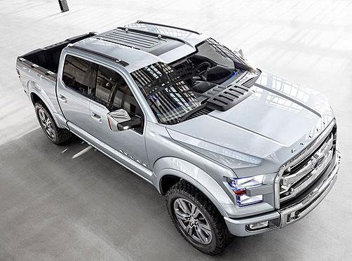 2018 Ford Atlas Concept