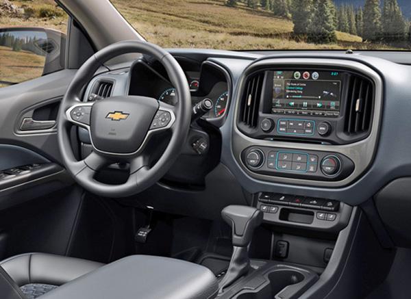 2019 Chevrolet Colorado Diesel Interior