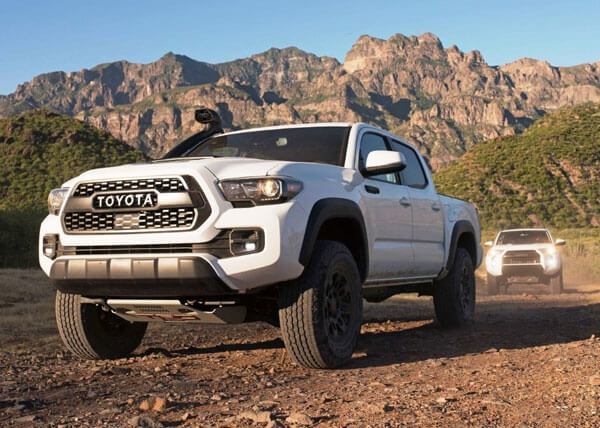 2020 Toyota Tacoma Diesel models