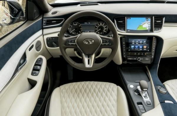 2021 Infiniti QX50 Interior