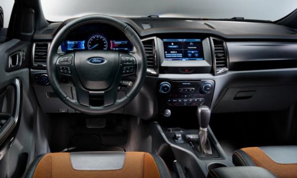 2020-Ford-Ranger Interior