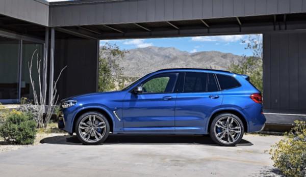 2021 BMW X3 Exterior
