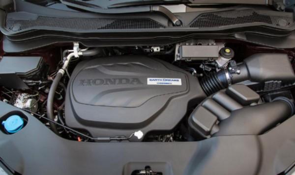 2021 Honda Ridgeline Engine