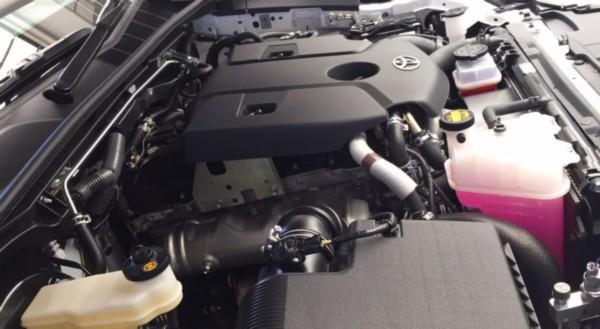 2021 Toyota Hilux Diesel Engine