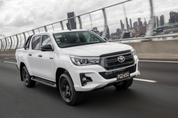 2021 Toyota Hilux Diesel Exterior