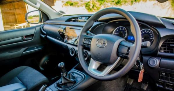 2021 Toyota Hilux Diesel Interior