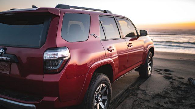 Toyota 4Runner TRD Pro Red