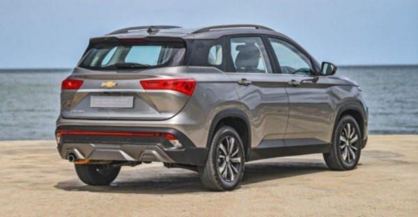 2021 Chevrolet Captiva Exterior