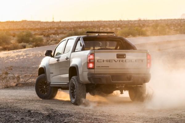 2021 Chevrolet Colorado ZR2 Exterior