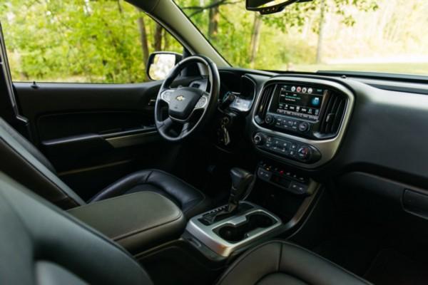 2021 Chevrolet Colorado ZR2 Interior