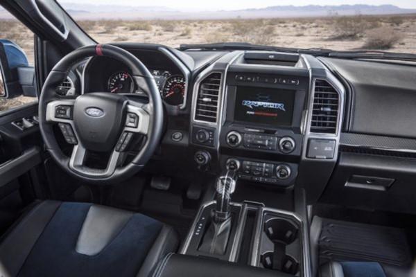 2021 Ford F-150 SVT Raptor Interior
