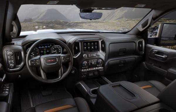 2021 GMC 1500 Sierra Interior